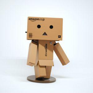 amazon box character